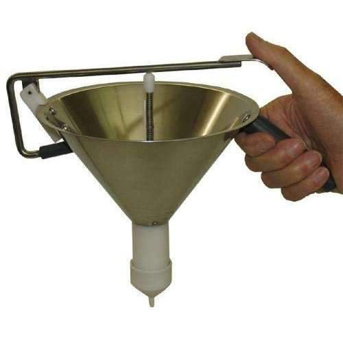 Adjustable Confectionery Dosage Funnel
