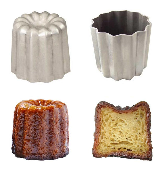 Aluminium Bordelais Cannele Mold