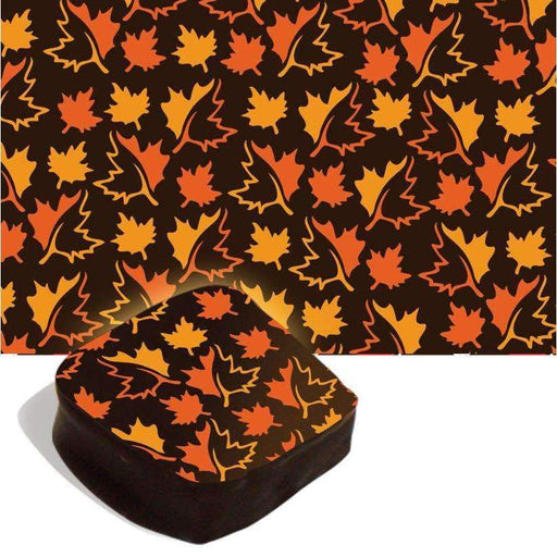 Autumn Maple Leaves Transfer Sheet
