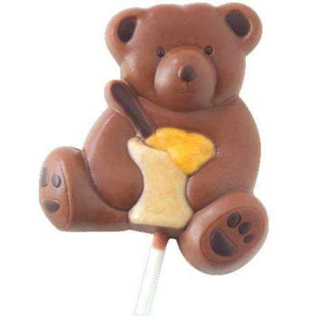 Bear Cub Lollipops Chocolate Mould