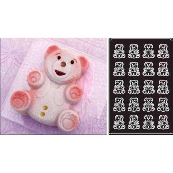 Bear Cubs Silicone Mould