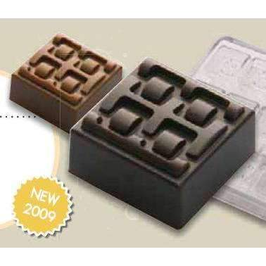 Belt Buckle Motif Chocolate Mould