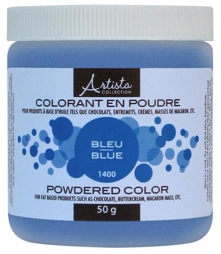 Blue Powdered Color