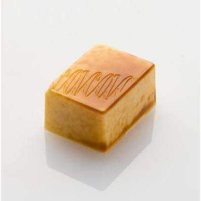 Cacao Logo Rectangle Bonbon Chocolat Moule