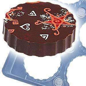 Chocolate Magnet Mould Large Rosettes