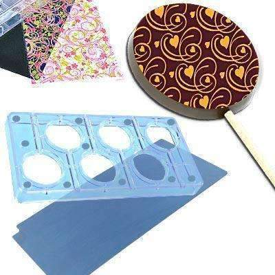 Round Lollipop Chocolate Magnet Mould