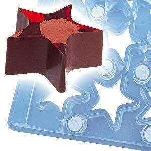 Chocolate Magnet Mould Stars