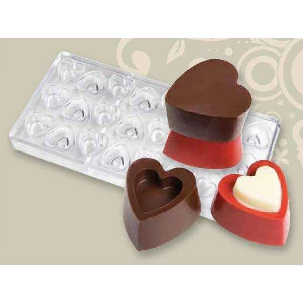 Chocolate Mould Hollow Heart