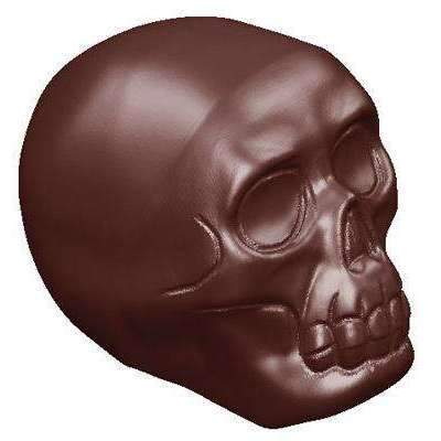Chocolate Mould Skull