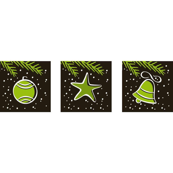 Christmas Decoration Label Transfer Sheets