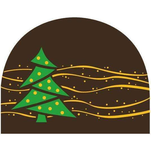 Christmas Tree Round Log End Transfer Sheets