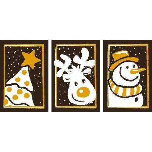Christmas Triptych Transfer Sheets