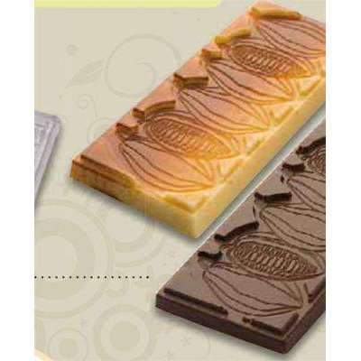 Cocoa Bean 50g Bar Chocolate Mould