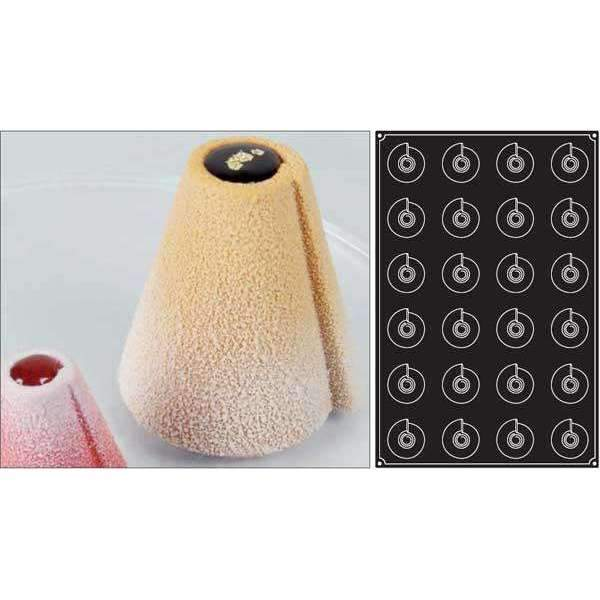 Cones Silicone Mould - Ø 65 mm