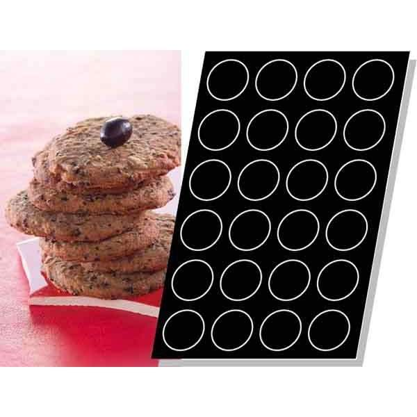 Moule silicone biscuits Ø 78 mm
