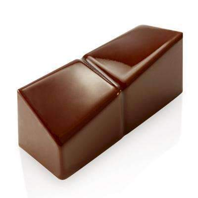 Crooked Rectangle  Chocolate Mould