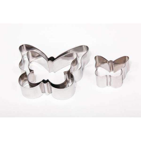 Cutters Set Plain Butterflies