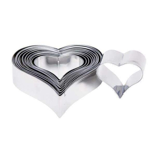 Cutters Set Plain Pointed Hearts