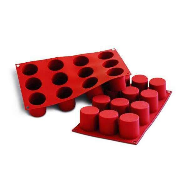 Deep Cylinders  Silicone Mould