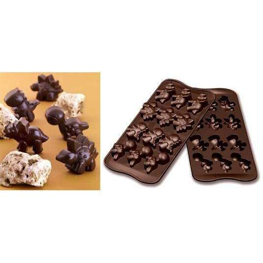Dinosaur Chocolate Silicone Mould