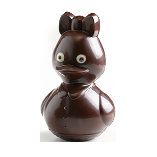 Female Duck Chocolate Mould 10 cm