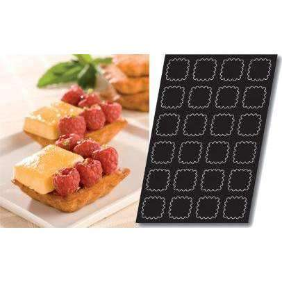 Fluted Square Tartlets Silicone Mould