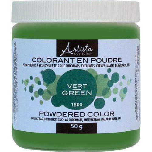 Green Powdered Color