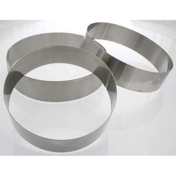"Stainless Steel rings Ø 6"" x H 2 1/2"""