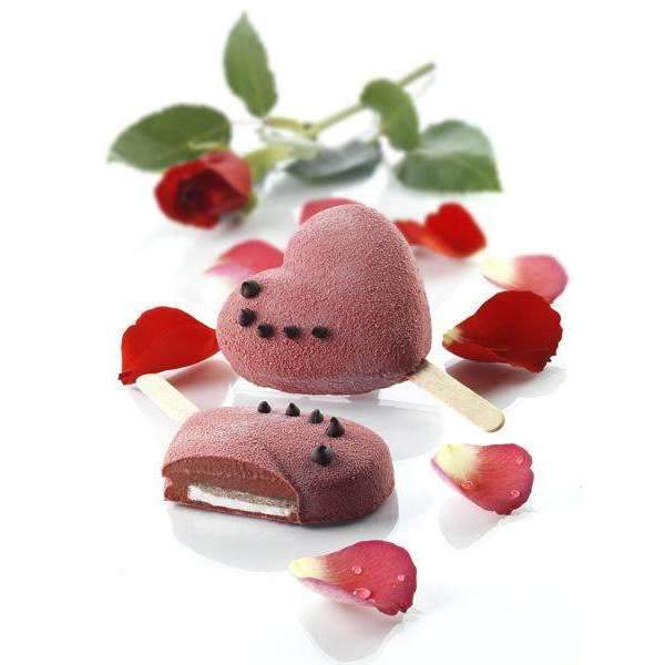 Heart Ice Cream Mould
