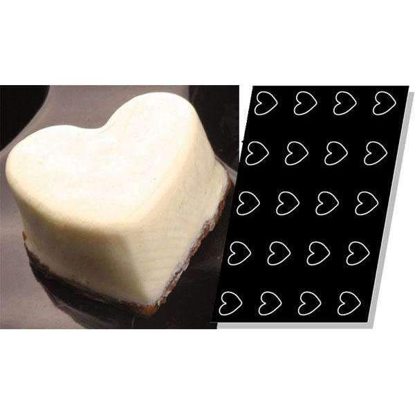 Hearts Silicone Mould - 66 mm