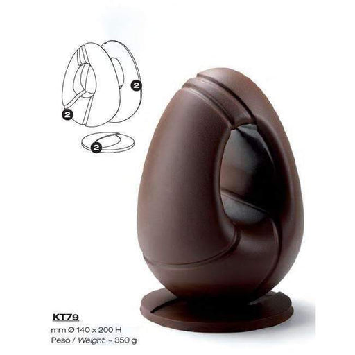 Hollow Egg Kit Chocolate Mould