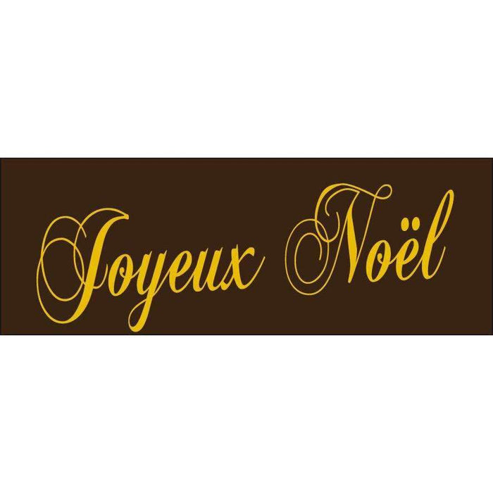 Joyeux Noël Label Transfer Sheets