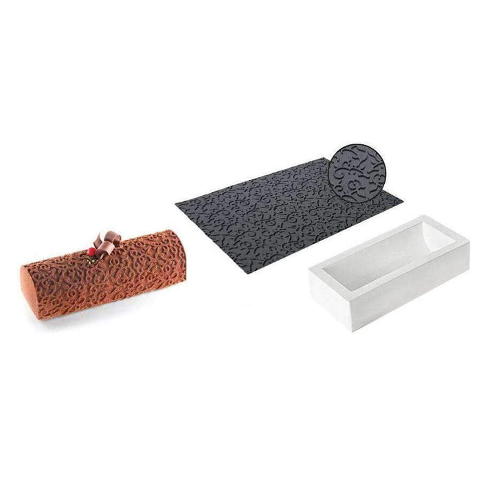 Kit Buche Arabesque Silicone Moule