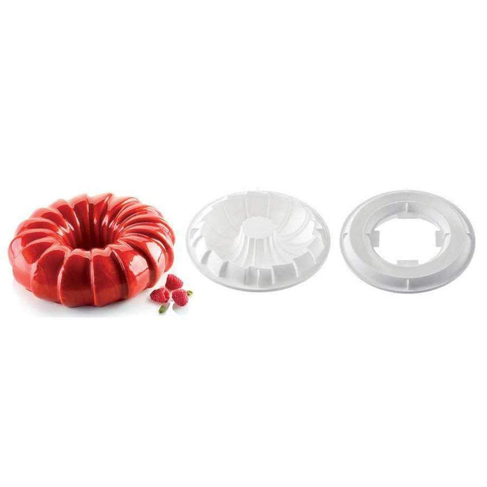 Kit moule en silicone queue rouge