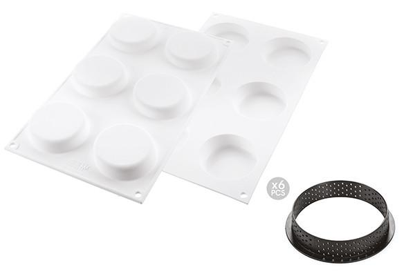 Kit Tart Ring Klassik Silicone Mould