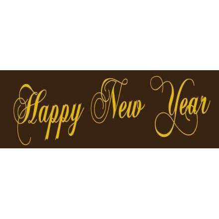 Label Transfer Sheets - Happy New Year