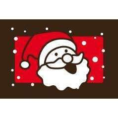 Label Transfer Sheets - Santa's Face
