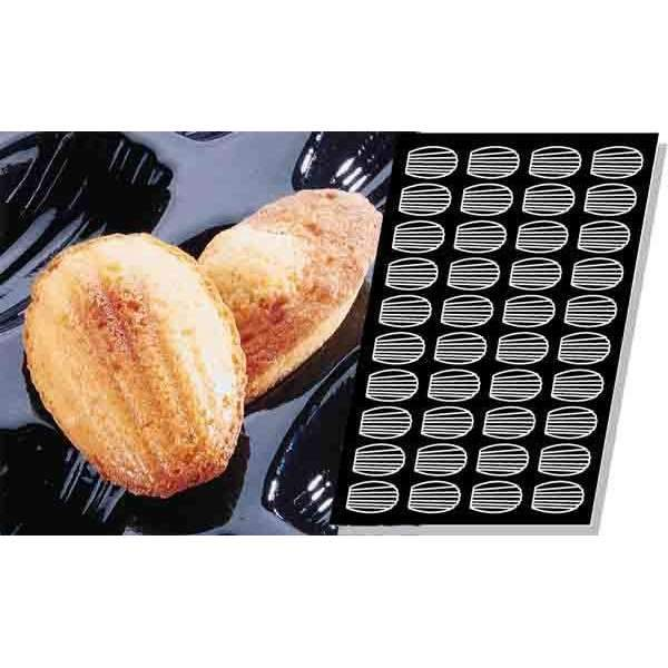 Large Madeleines Silicone Mould
