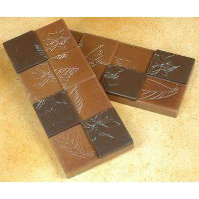 Leaf Motif 50g Bar Chocolate Mould