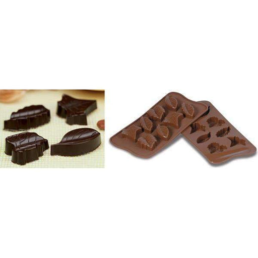 Leaves Chocolate Silicone Mould