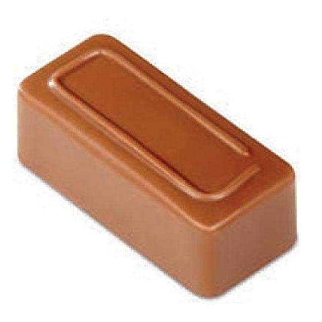 Ligne rectangle chocolat moule