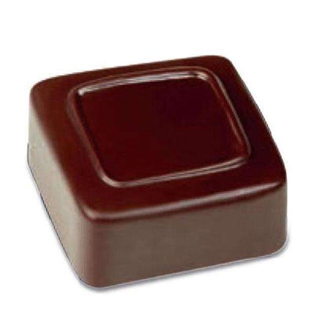 Line Square Chocolate Mould
