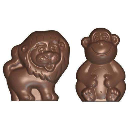 Lion and Monkey Mould