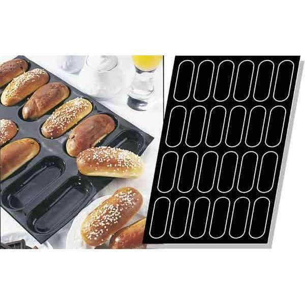 Long Brioches Silicone Mould