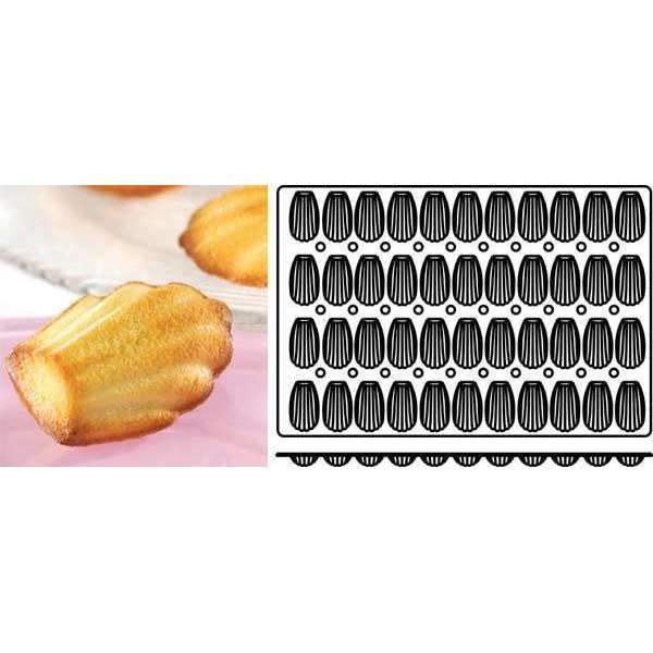 Madeleines Silicone Mould