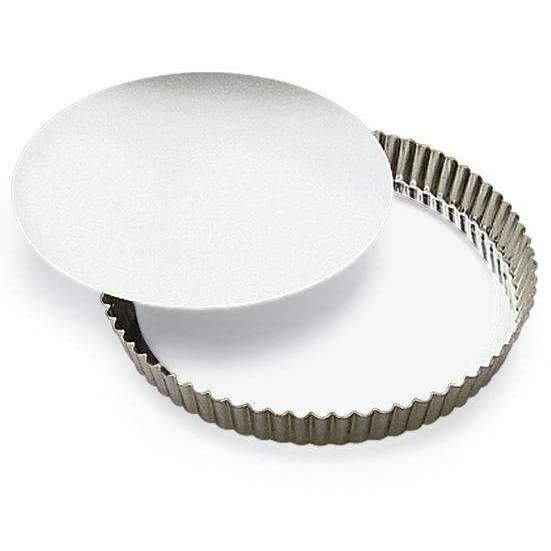 Medium Deep Fluted Cake Heavy Tin Moulds