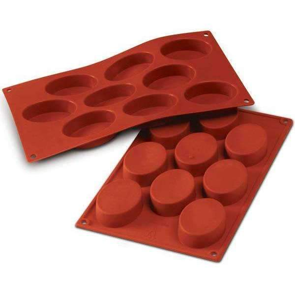 Medium Ovals Silicone Mould