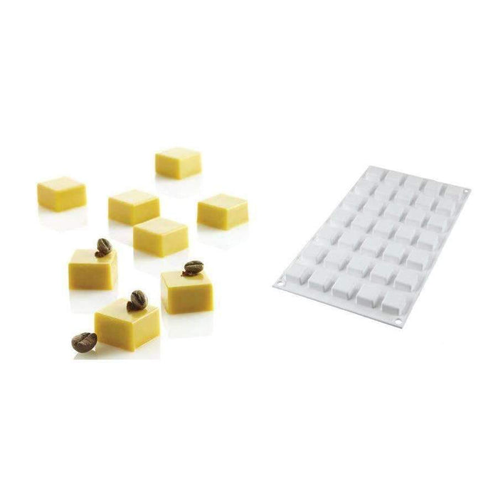 Micro Square 5 Silicone Mould