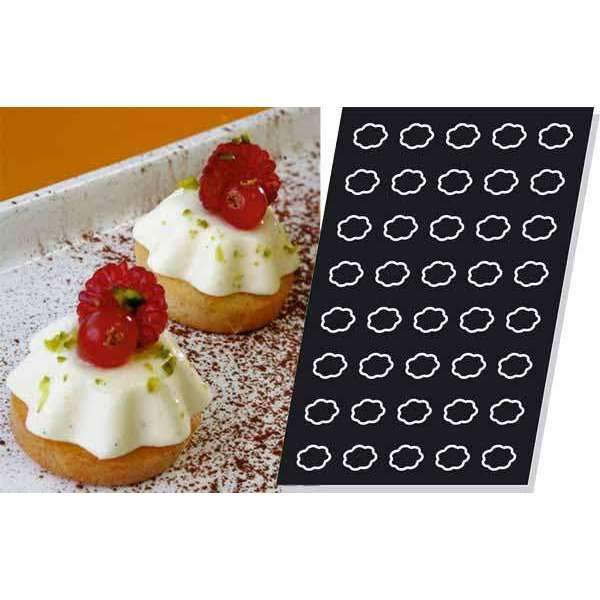 Mini-Fluted Tartlets Silicone Mould