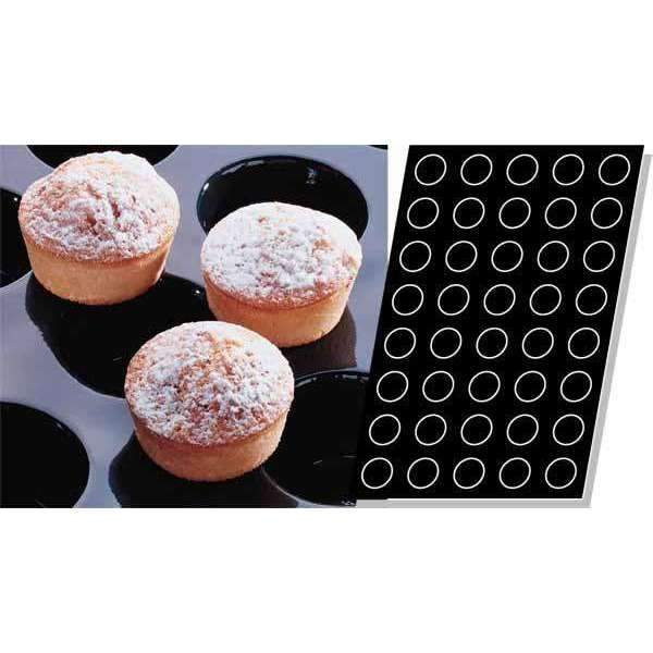 Mini-Muffins Silicone Mould - Ø 51 mm